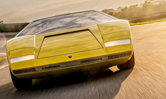 Car: They drove the first Lamborghini Countach from scratch