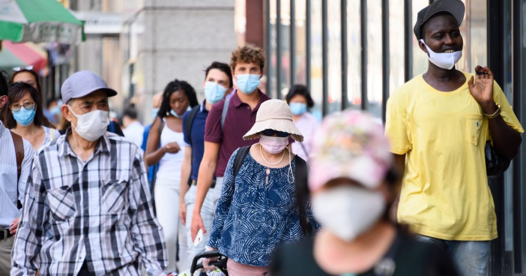 Index - Abroad - In the United States, the mask can be discarded after two vaccinations