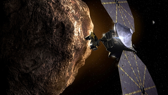Tech: Galactic astronomer: Lucy spacecraft searching for water ice on mysterious planets