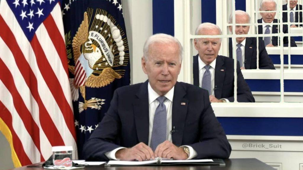 'Truman Show Chair' - Joe Biden is mocked again