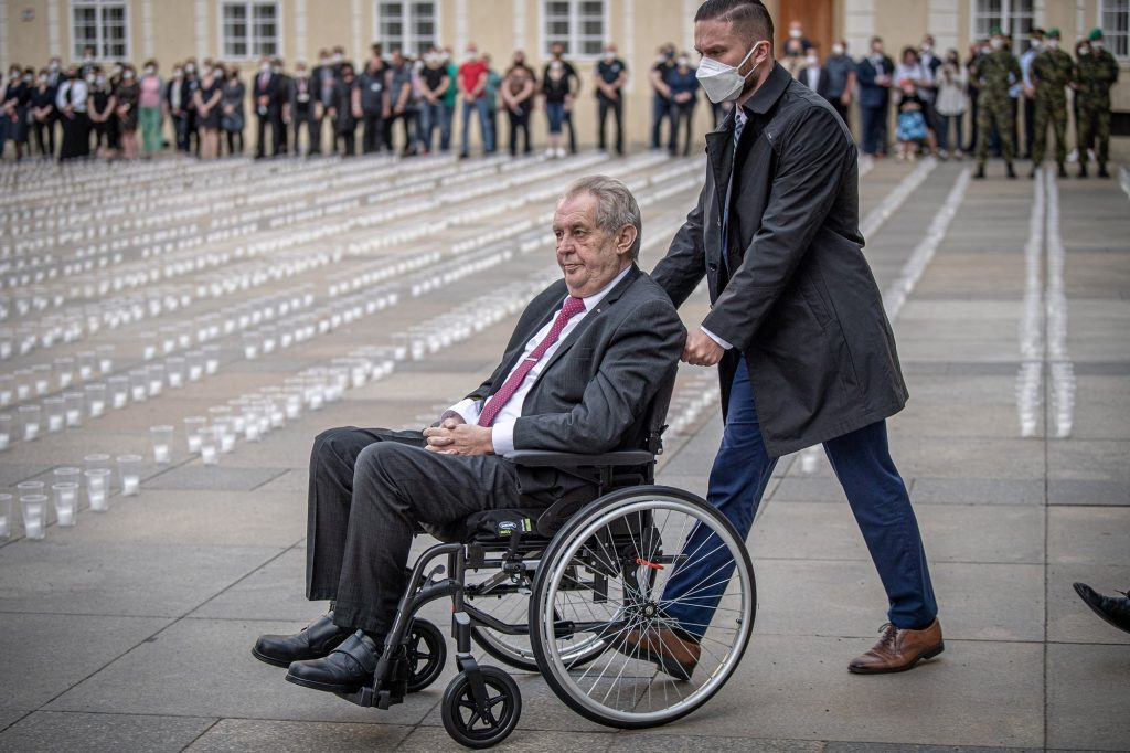 Zeman, according to his doctors, is unable to perform his duties as head of state